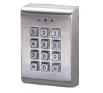 digital keypad for door gate keyless entry system gianni. Black Bedroom Furniture Sets. Home Design Ideas
